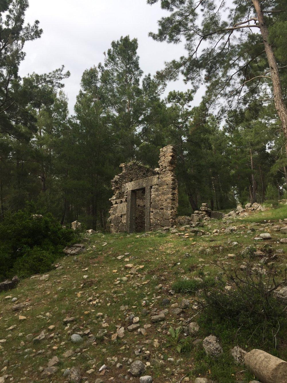 Ruiny v Lyrbe