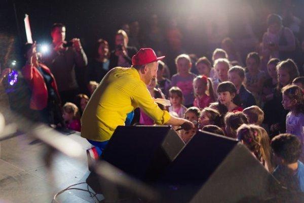 Deti si jeho pesničky obľúbili.