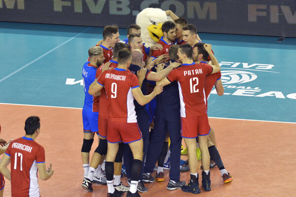 Slováci naďalej figurujú na pozícii, ktorá zaručuje účasť na záverečnom turnaji Final Four.
