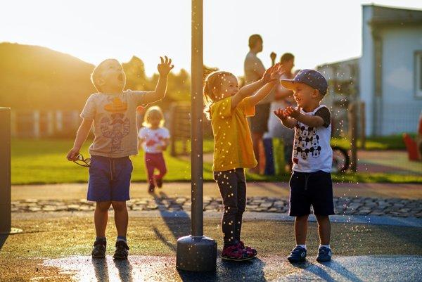 Nové detské ihrisko sprístupnili 1. júna.