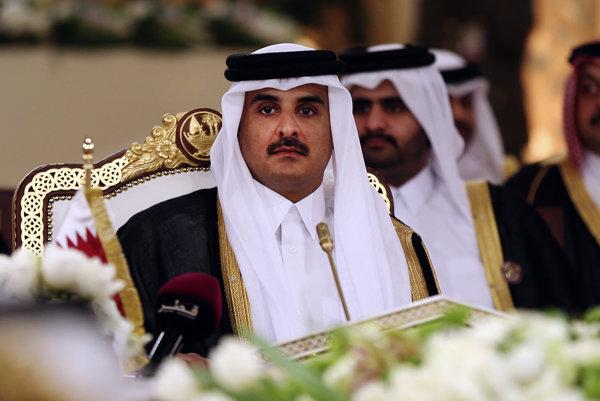 Katarský emir Hamád Ibn Chalífa as-Sání