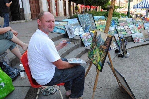 Umelci budú maľovať priamo v centre Prešova.