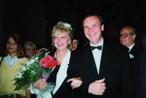 Sobáš speváckych hviezd. Hanka a Štefan svoju lásku spečatili 6. 6. 1992.