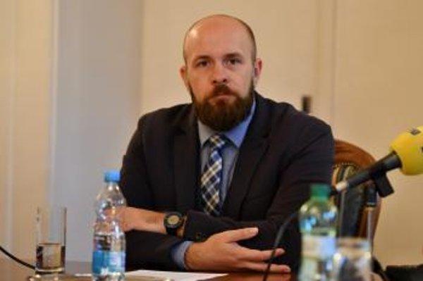 Primátor Trnavy Peter Bročka.