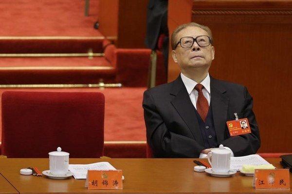 Čínsky exprezident Ťiang Ce-min.