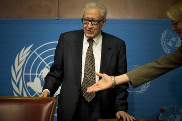 Podľa vyjednávača Bráhímího nepostupujú mierové rokovania podľa očakávania.