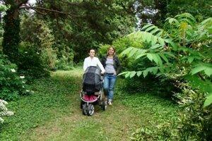 Botanická záhrada v  Trnave.