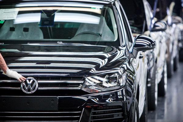 Výroba v bratislavskom závode Volkswagenu.