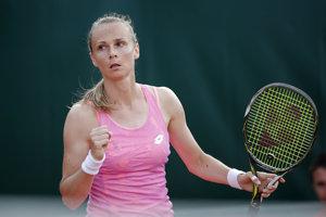 Magdaléna Rybáriková potvrdila výbornú formu.
