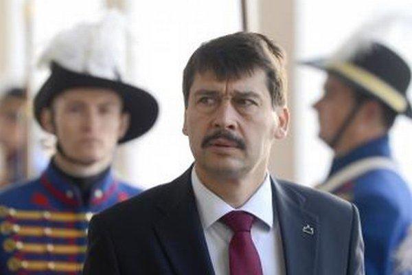 Prezident Maďarska János Áder.