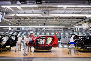 Vbratislavskom závode sa vyrobí denne tisíc vozidiel.