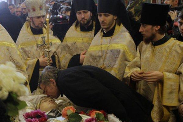 Pohreb Michaila Žiznevského.