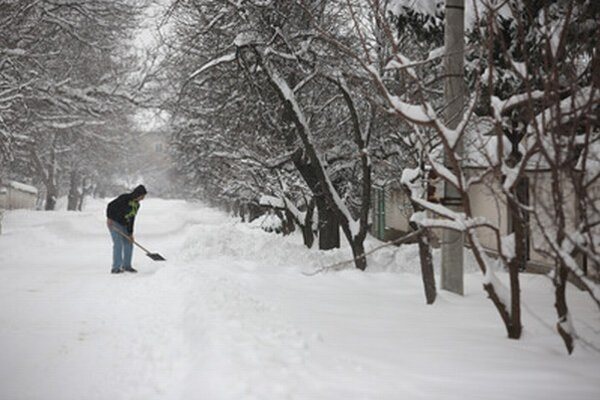 Husto snežilo aj v Bulharsku.