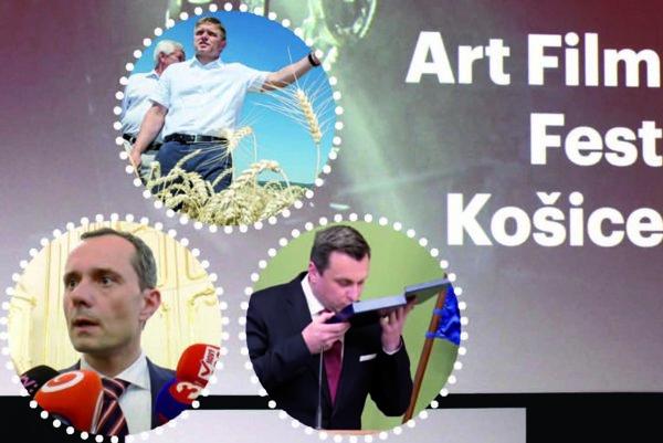 Presvedčivé herecké výkony. Vystúpenia politikov premietli pred divákmi usadenými v Kunsthalle.