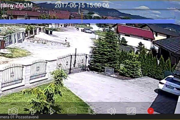 Záznam z kamery odhalil mladých mužov.