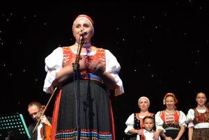 Anka Poráčová. Koncertom predstavila svoje nové CD.