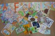 Lesné pohľadnice.
