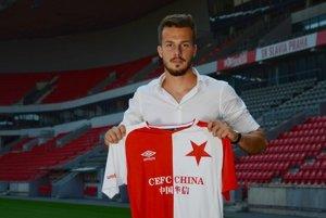 Jakub Hromada je hráčom Slavie Praha, ale momentálne pôsobí v Liberci.