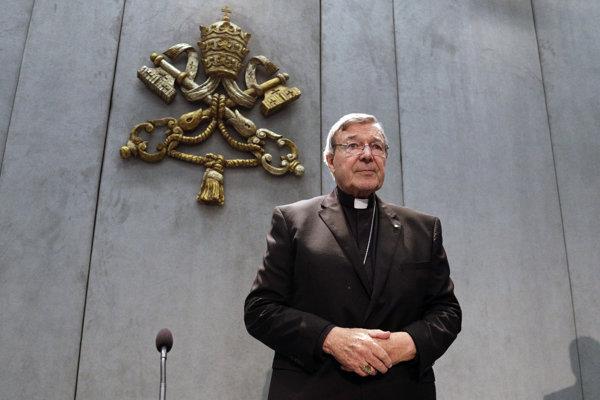 Obvinený pokladník Vatikánu George Pell.
