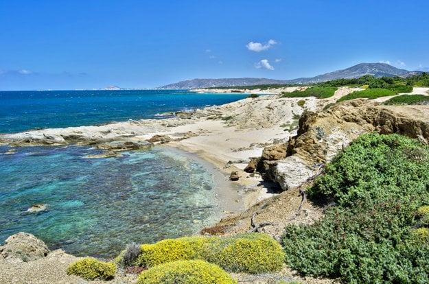 Grécky ostrov Naxos sa pýši hlavne prírodnými krásami.