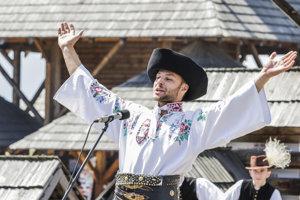 Trojnásobný laureát Šaffovej ostrohy Jakub Filipko počas programu s názvom Z najlepších.