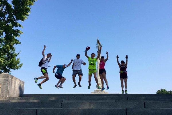 Spoznávanie mesta spôsobom Go Running privedie návštevníkov bežcov aj na Slavín.
