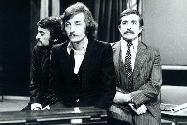 Milan Lasica, Jaro Filip a Július Satinský.