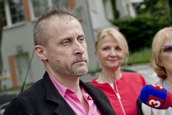 Predseda OZ Mičurín Marcel Šimončič.
