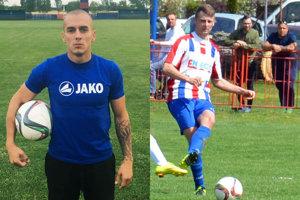 Patu povedie Lukáš Herák. Ako futbalista bude naďalej pôsobiť v Rakúsku. Vpravo Tomáš Dvorský, jedna z opôr mužstva.