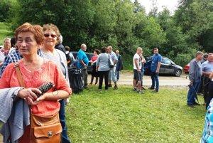 Na stretnutie rodákov, ktoré sa tentokrát konalo v Riečnici, prišlo odhadom tisíc ľudí.