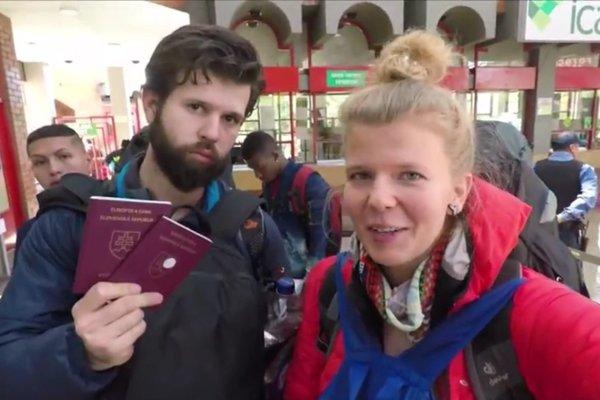 David a Barbara.Na kolumbijsko–ekvádorskej hranici.