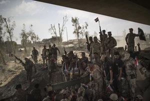 Irackí vojaci dobyli Mosul.
