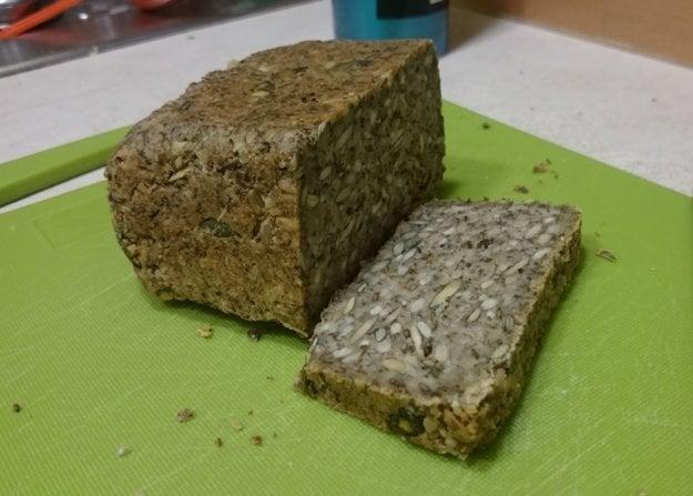 Quinoa chlieb - nízkohistamínový, bezlaktózový, bezlepkový.