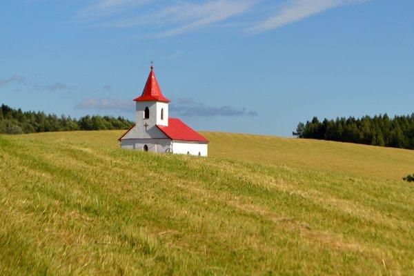 Kostol v osade Brestina.