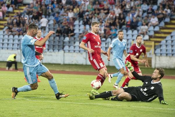 Slovan bude musieť v Dánsku zmazať jednogólové manko.