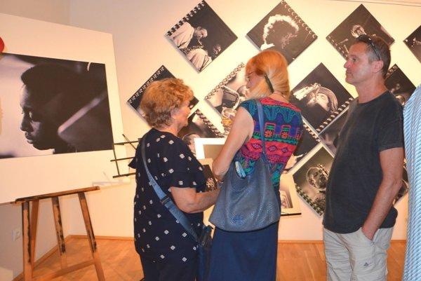 Výstava fotografa v Turčianskej galérii.