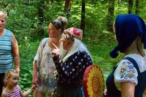 Tento rok sa na lúke pri studničke konal už tridsiatydeviaty ročník Cesty rozprávkovým lesom.