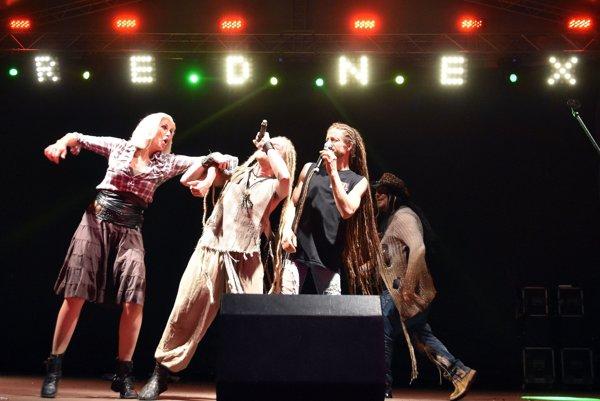 Koncert švédskej skupiny Rednex.