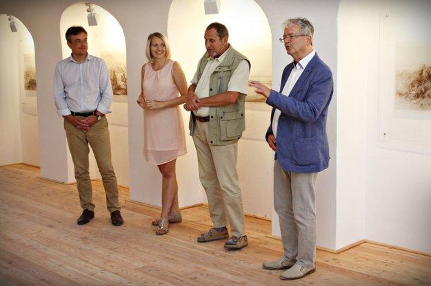 V priestoroch pevnosti pripravili stálu výstavu fotografií.