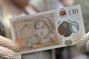 Austenovú vyobrazili na desaťlibrovej bankovke.