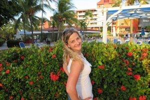 Spisovateľka Lucia Braunová dovolenkovala na Kube.