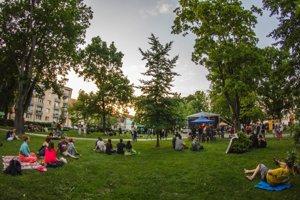 Culturebox a Štúrov park pred rokom.