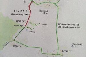 Prvá etapa rekonštrukcie cesty III/1082.