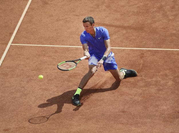 Andrej Kuznecov získal v semifinále iba päť gemov.