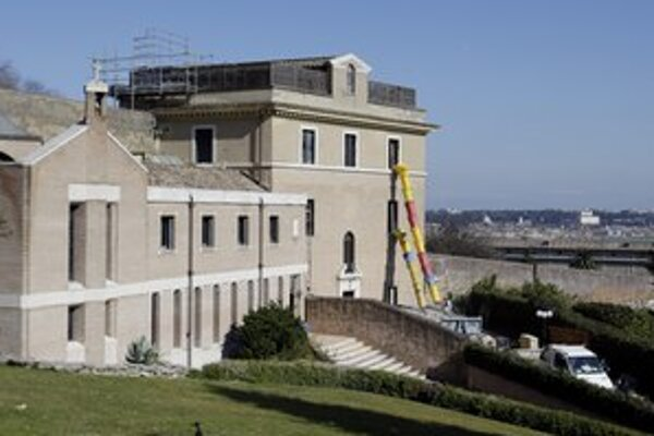 Benediktov nový domov vo Vatikáne.