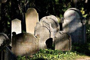 Náhrobky na židovskom cintoríne v Třebíči