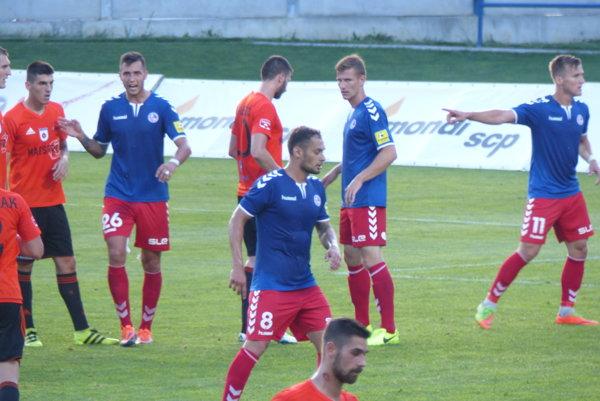 Zo zápasu 2. kola Fortuna ligy Ružomberok - Senica.