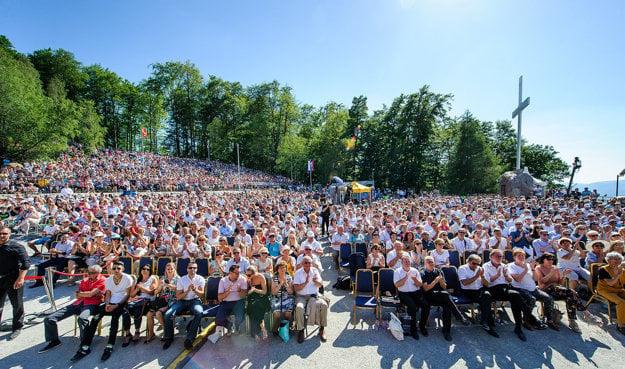 Rekordná návšteva na benefičnom koncerte Aleluja.