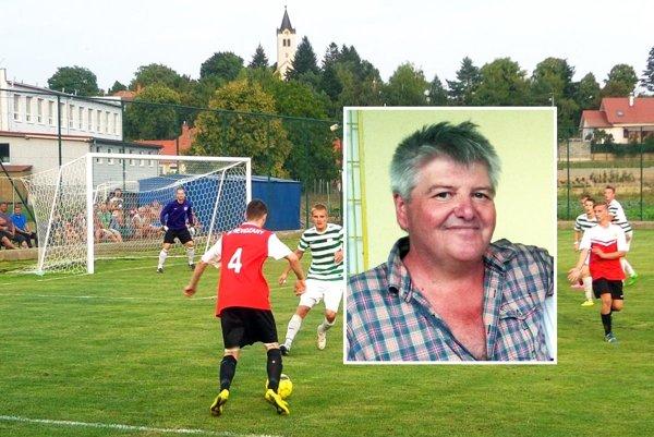 Jubilant Milan Kramár, šéf futbalu v Nevidzanoch.