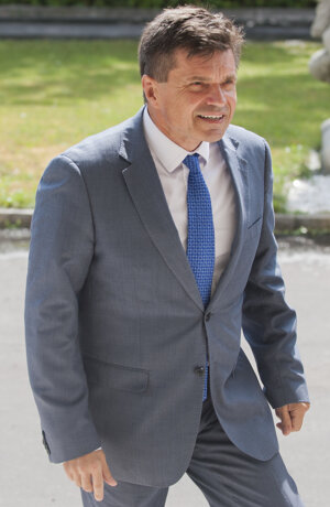 Minister Peter Plavčan.